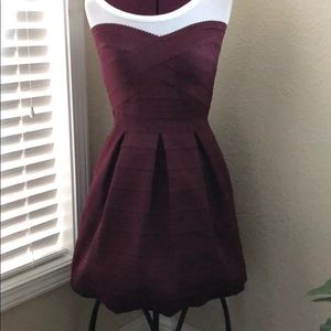 Pull up dress. Hides everything! holiday party?